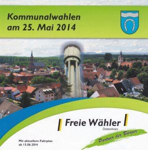 Wahl-Flyer 2014